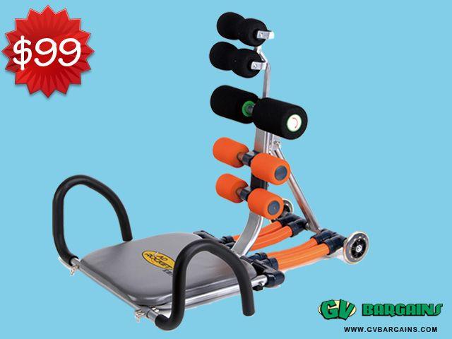 ABDOMINAL EXERCISE MACHINE FITNESS EQUIPMENT_HOMEWARE_GV Bargains : SPECIALS