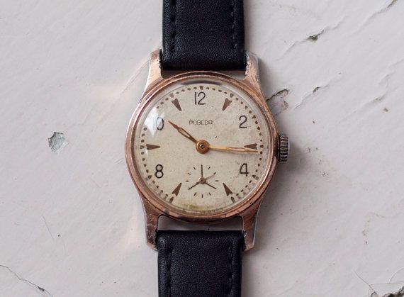 Soviet watch Russian watch Vintage Watch Unisex by SovietWatches, $41.65