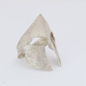 Love this handmade silver ring!