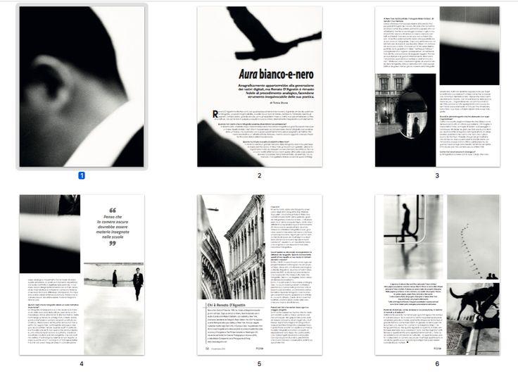 Intervista / Renato D'Agostin Aura bianco-e-nero / di Tobia Donà / Foto-cult #126