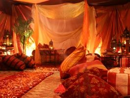 Decor From India | Arabian night themed tents, unique decorated marquee, Party decoration ...