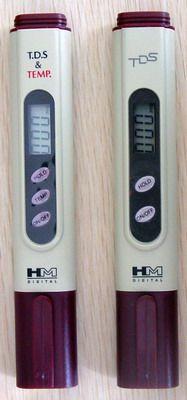 HM TDS Meters (Total Dissolved Solids) KL-740 (Dengan Temperatur Display) - Digital Meter Indonesia