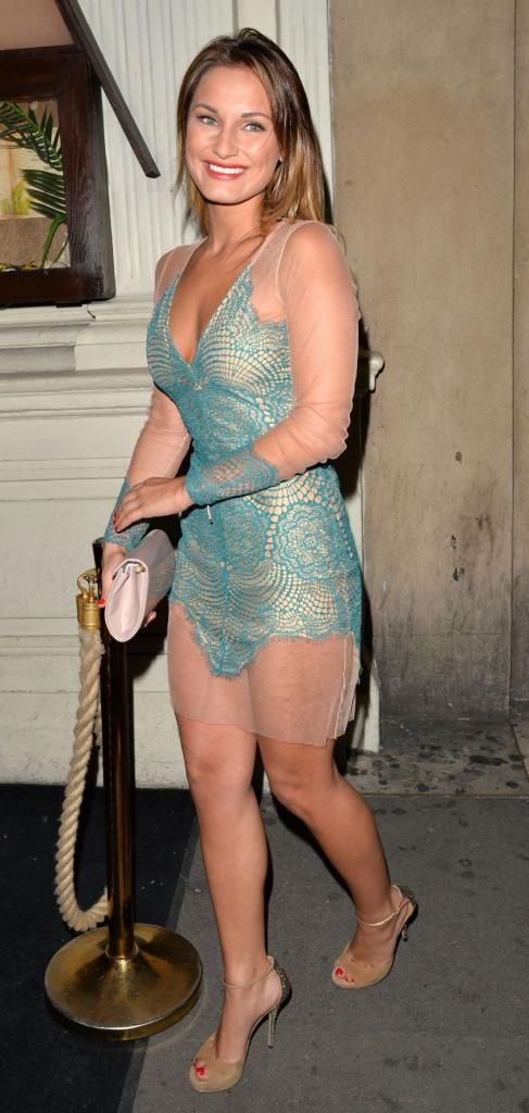 Sam Faiers Out for Dinner at Scott's Restaurant in London : Global Celebrtities (F) - FunFunky.com