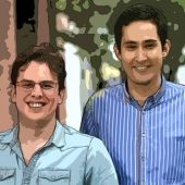 Founders of Instagram. Company serving 4 million users employs only 4 people. Just purchased by Facebook for $1B. Crazy! [Inc.com]
