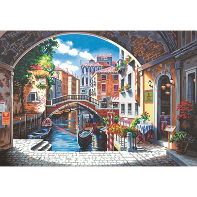 Dimensions 20×14 Paint By Number Kit – Archway to Venice « Blast Groceries