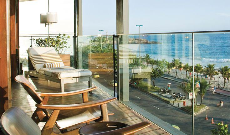 Fasano Hotel in Rio, Brazil