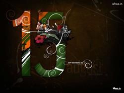 15 August Independence Day With Indian Culture HD Wallpaper,Independence Day HD Wallpaper,15 August HD Wallpaper,Happy…