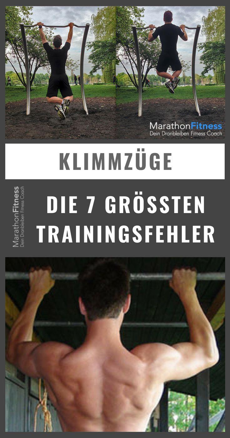 Klimmzüge: Die 7 größten Fehler im Klimmzug-Training