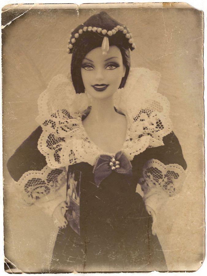 Audrey as Sentimental Valentine Barbie