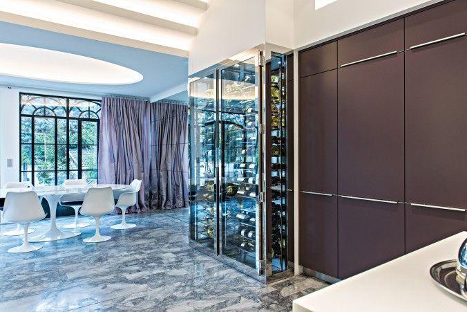 Cave vin sur mesure de luxe provintech pour un for Miroir sur mesure luxembourg
