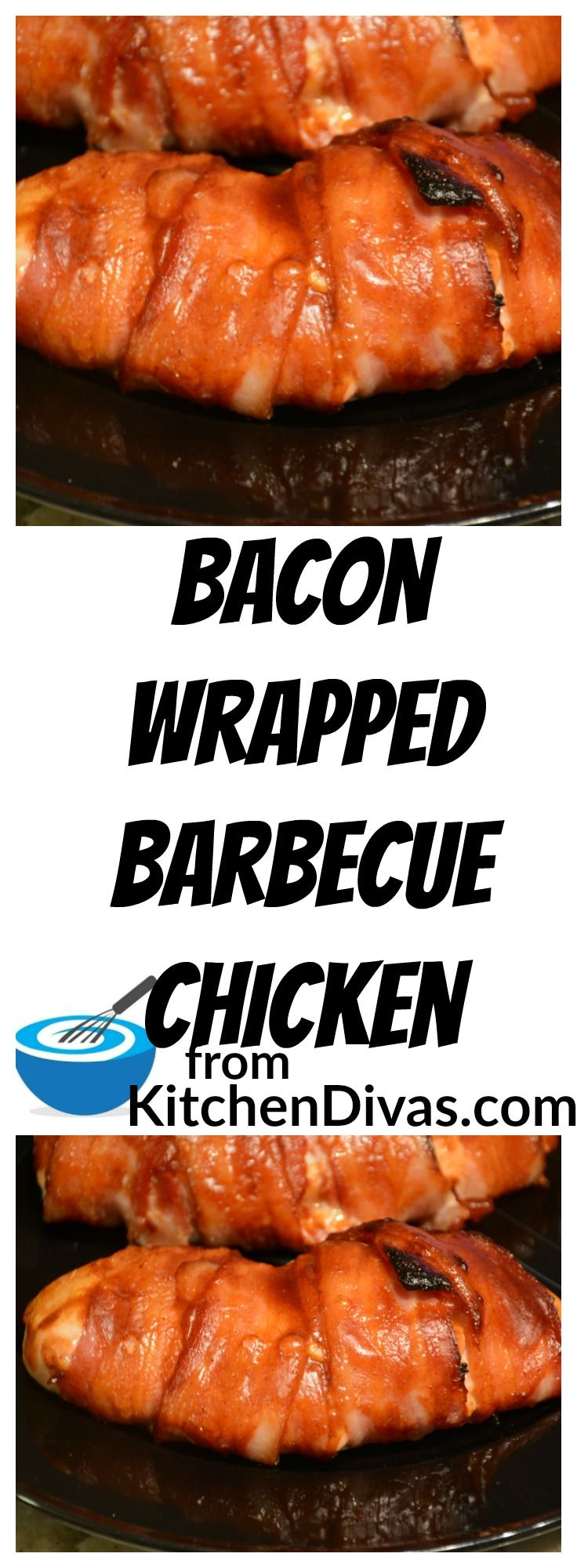 Bacon Wrapped Barbecue Chicken