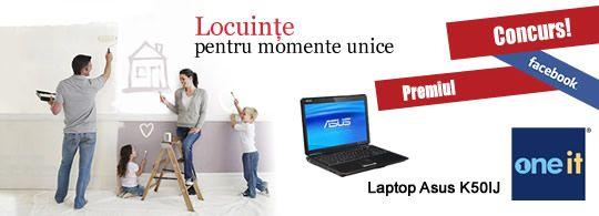 Laptop Cadou de la One-IT si Grup de Lux