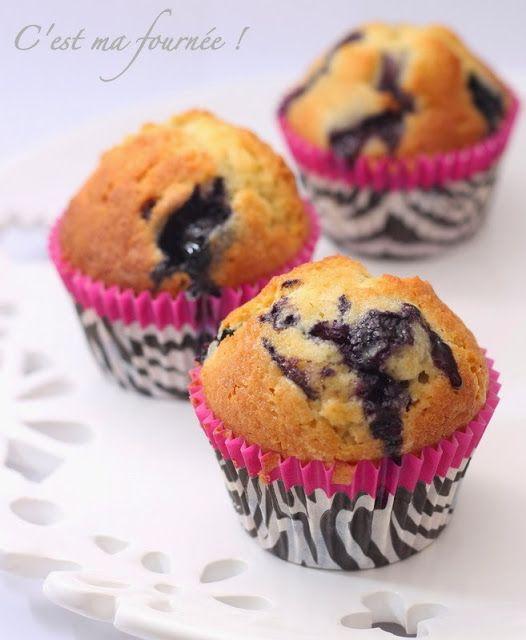 C'est ma fournée !: Les muffins aux myrtilles : ze recette !