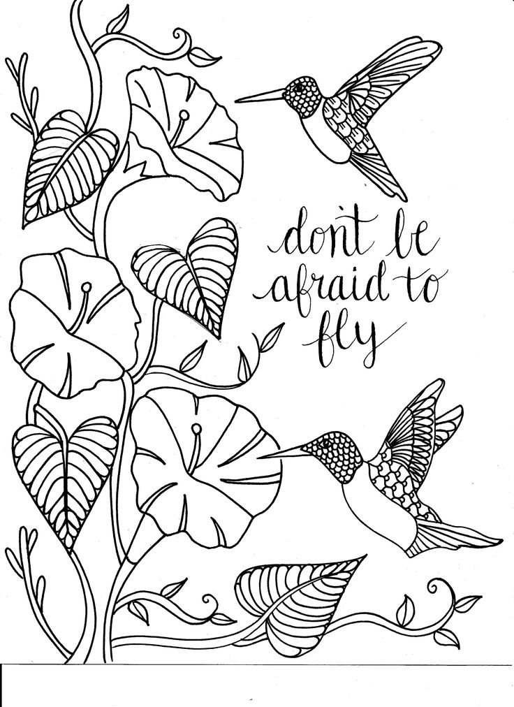 275 Best Words Colouring Pages For Adults Images On Pinterest