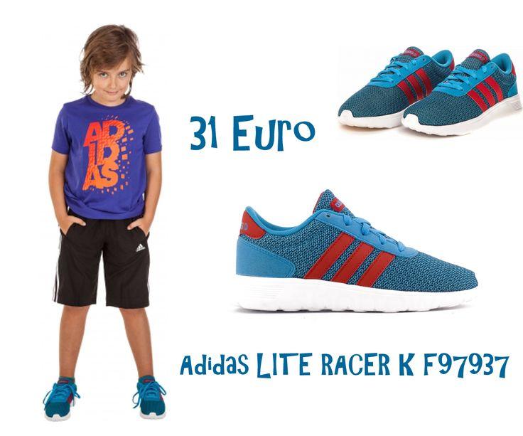 Adidas LITE RACER K F97937 Damenschuhe Netz ausreichende Be- und Entlüftung Füße gewährleisten. Ideale Schuhe für Kinder ist bei uns 31 EURO #adidas #lite #racer #damen #kinder #schuhe