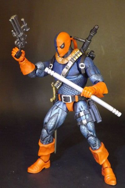 Deathstroke the Terminator vers. II (DC Universe) Custom Action Figure by Comicustoms Base figure: Red Skull wave Cap, masked head is modified Daredevil