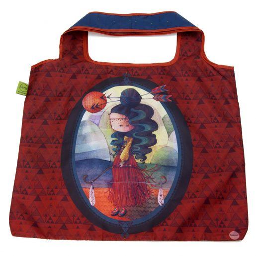 Sac d'Achats Repliable Alisma KETTO Foldable Shopping Bag Alisma // Polyester. Capacité de 10 kg. // Polyester. Capacity of 10 kg. // #SacRepliable #FoldableBag #Ketto