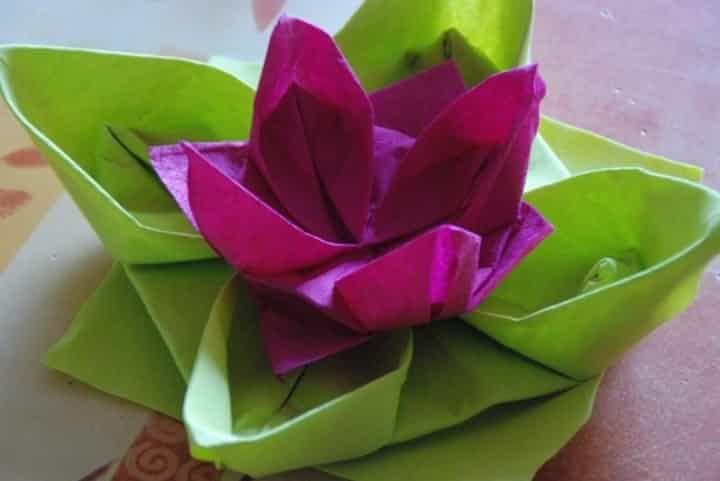 épinglé Par Susan Cherry Sur Napkin Folding Pliage