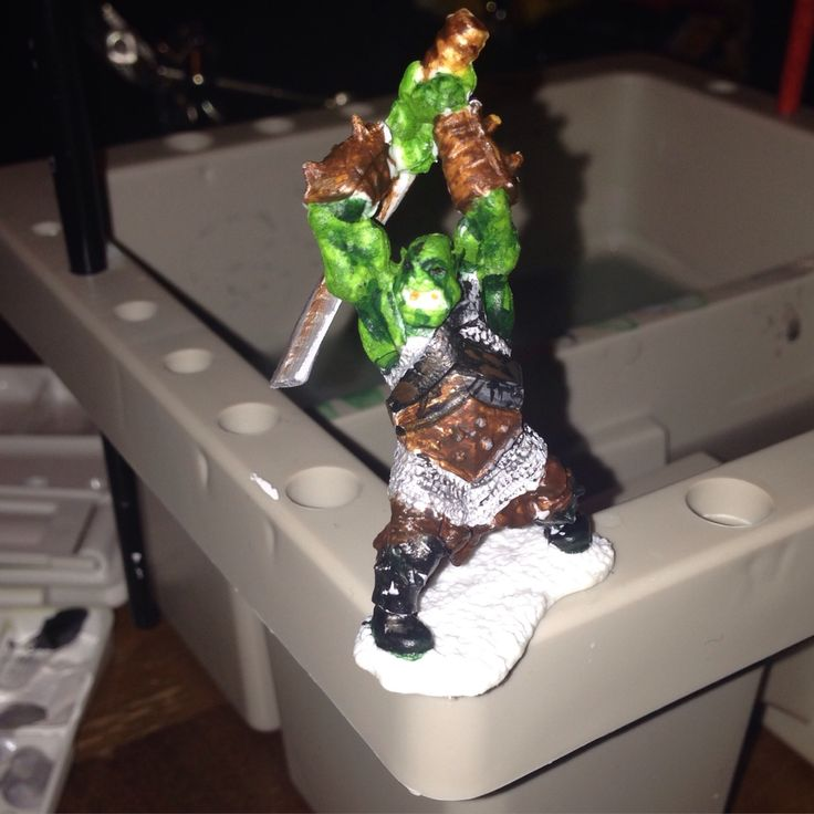 Mr Orc one I've painted tonight