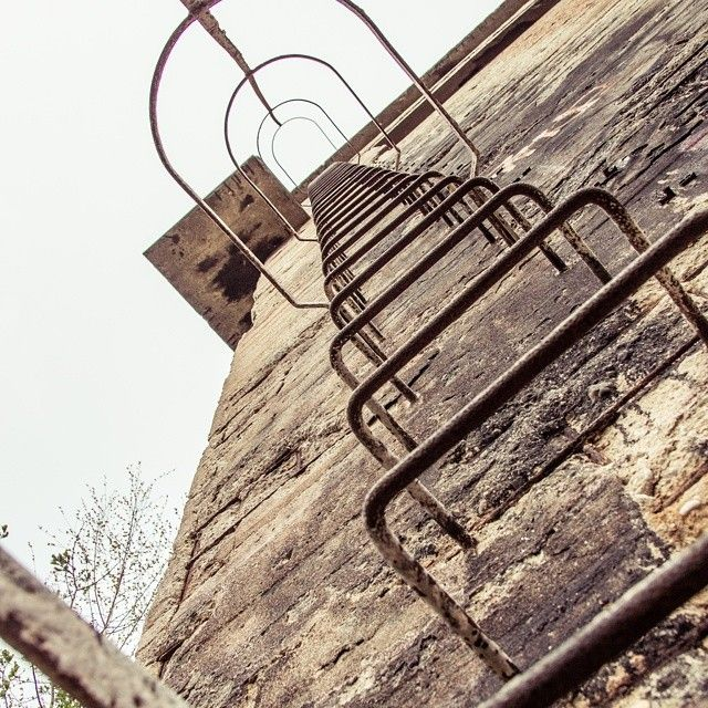 Steps to the heaven. #architecture #industrial #urbex #poldi