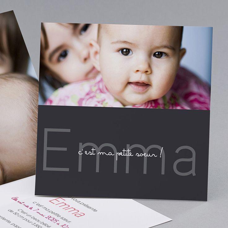 Faire-part de naissance personnalisés, faire-partardoise,vintage,tendance,photos fpc