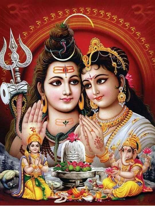 Om Namah Shivaya..♡. Bendita familia.