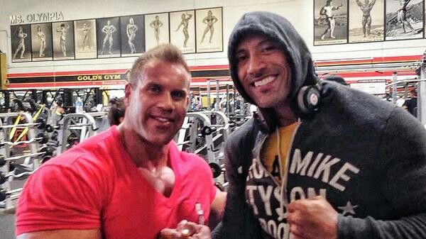Great to see my bud 4x Mr. Olympia Jay Cutler Legend and solid dude. #TheMecca #BigBoysPlayground