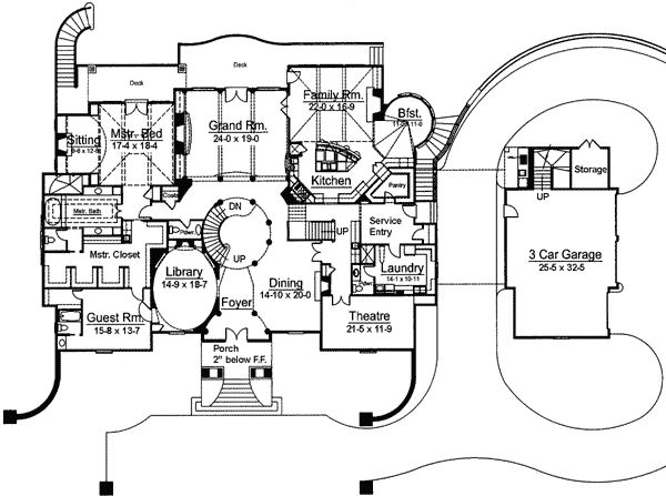 58 best images about home floor plans on pinterest 2nd for French chateau plans
