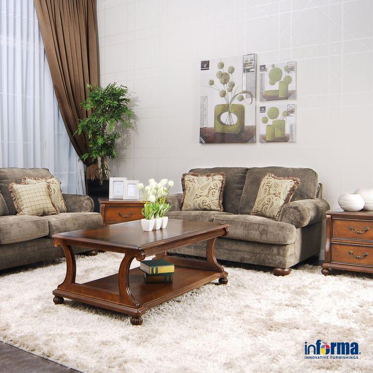 Sepasang Sofa Yang Nyaman Di Ruang Tamu Dapat Membuat Anda Merasa Dimanjakan