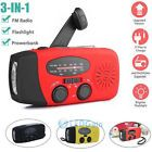 Emergency Solar Hand Crank Dynamo AM|FM|WB|NOAA Weather Radio LED Torch Charge8  Working voltage - 2.7V~4.2V, Power source - 2|3 AAA 300mAh|3.6V Ni-MH, AM - 520~1710 KHz, FM - 87~108 MHz, NOAA - 162.450~162.550 MHz, Type - Emergency, USB cable length - approx. 50cm, Frequency range - AM 520~1710KHz, Features - Hand Cranked