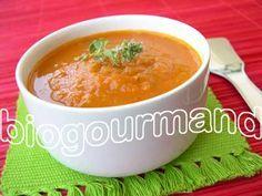 velouté de tomates aux légumes parfumé à la badiane