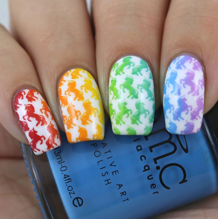 The Digit-al Dozen Does Mythical Creatures - Day Five by Olivia Jade Nails