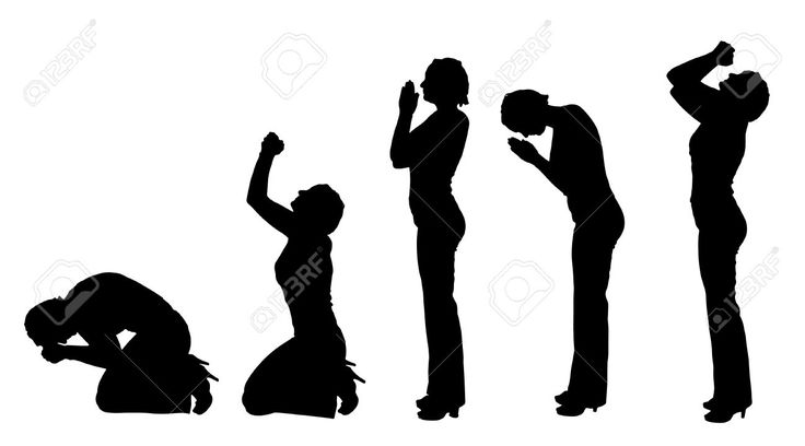 Woman Praying Hands Cliparts, Stock Vector And Royalty Free Woman ...