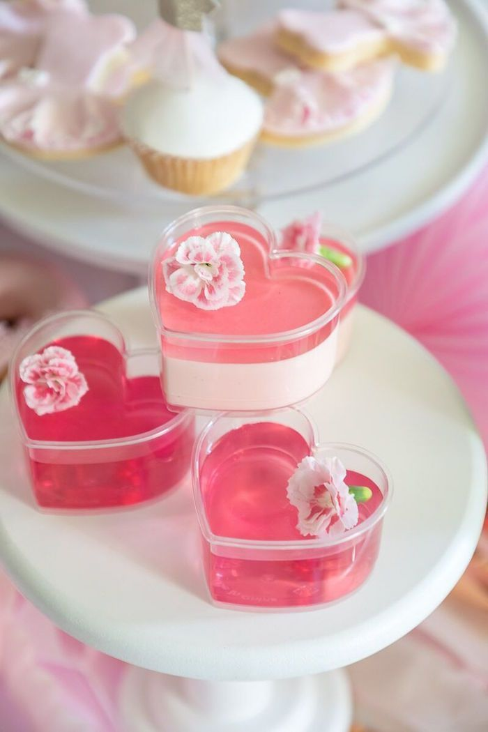 Pink White Ballerina Birthday Party Pink Party Foods