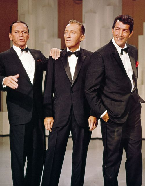 There's something about men in tuxedo's. That can sing. . .  Frank Sinatra, Bing Crosby, and Dean Martin