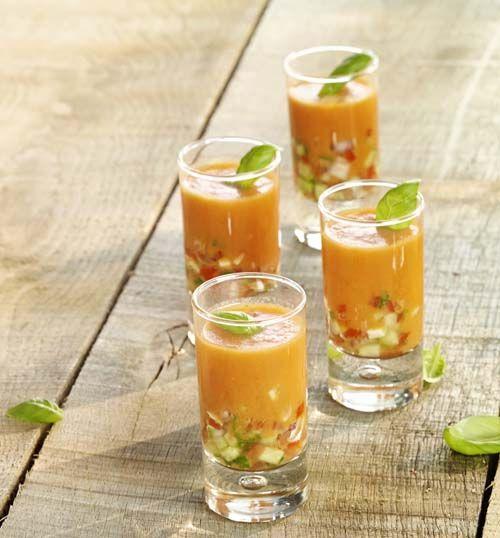 Gazpacho met groenteblokjes - Colruyt Culinair !