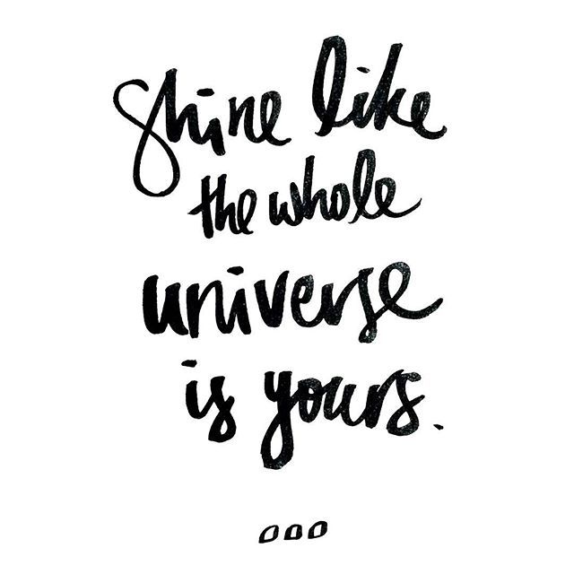 Just a little reminder to shine bright! #thisisactiveliving #lornajane #activeliving #movenourishbelieve