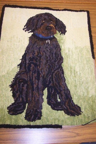 rugs dog crafts rug inspiration braided rug rug ideas punch needle dog