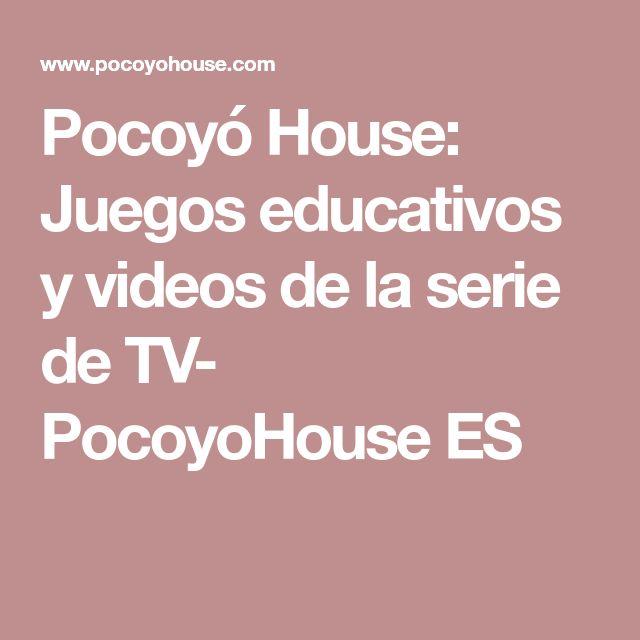 Pocoyó House: Juegos educativos y videos de la serie de TV- PocoyoHouse ES