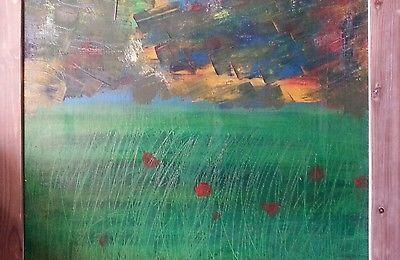Dipinto omaggi Marquez papaveri pittura quadro graffi idea regalo colori olio ;) | Arte e antiquariato, Quadri, Altre tecniche | eBay!