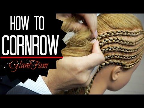 How to Cornrow Your Own Hair | Beginner Friendly | MariaAntoinetteTV - YouTube