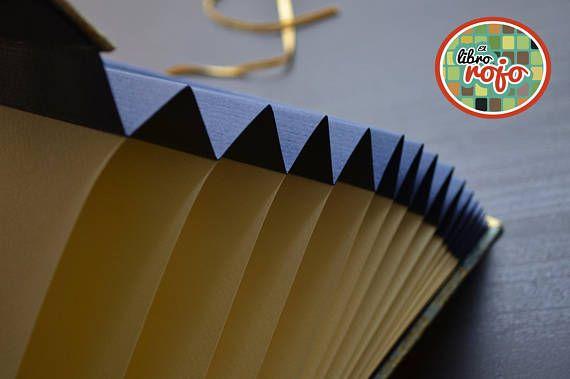 Hermoso álbum fotográfico con estructura en concertina