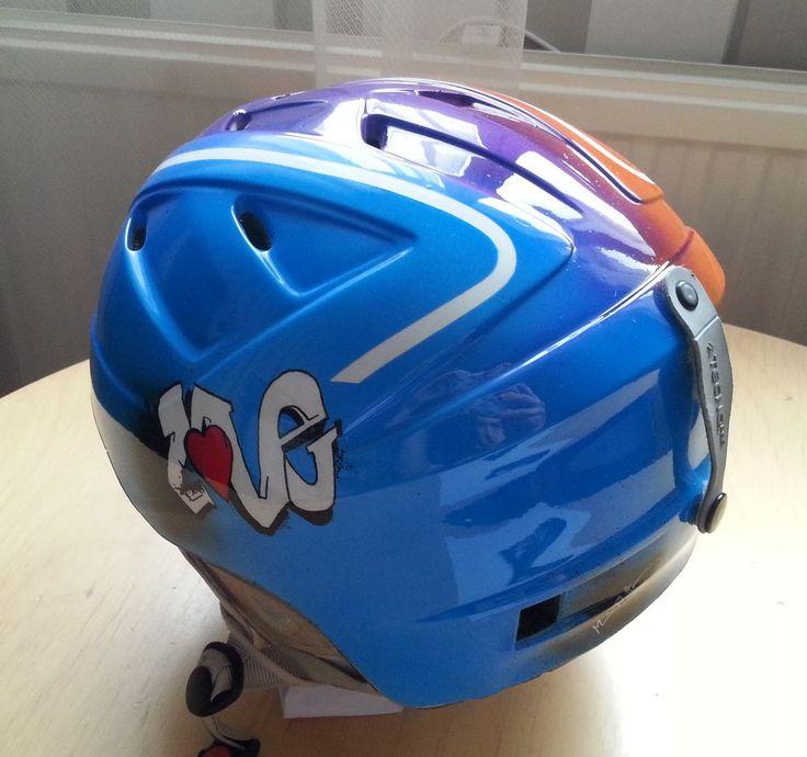 Ski helmet other side