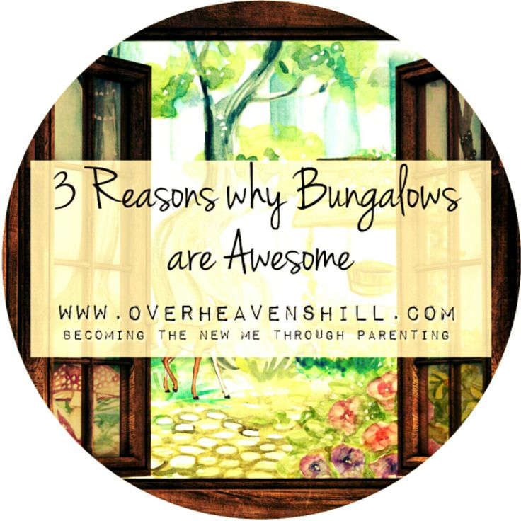 What a difference a year makes. It's hard to believe we're living in our country bungalow for almost a year now - 3 Reasons why Bungalow Living is Awesome