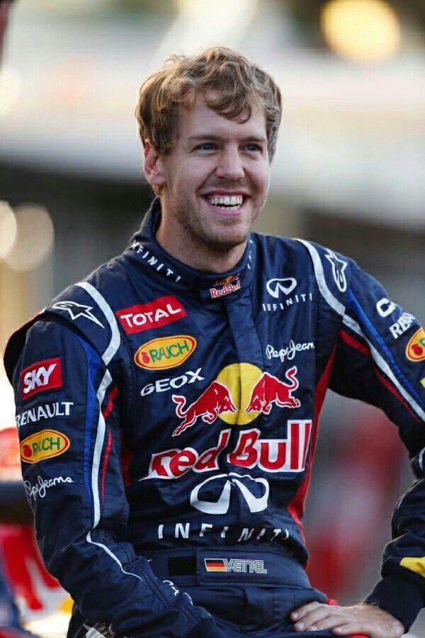 Red Bull Racing's Sebastian Vettel - Four Time World Formula One Champion.