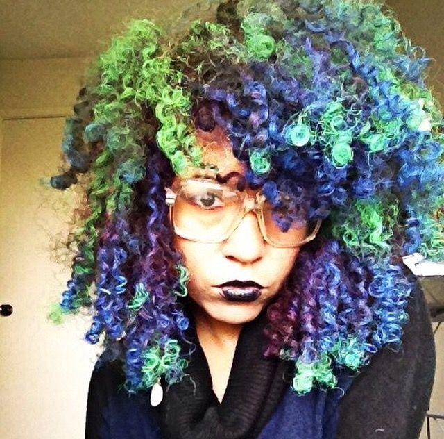 Magic Party Color Temporary Hair Spray Green