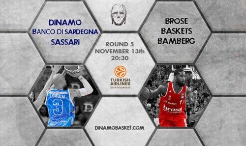 Dinamo Sassari – Brose Baskets Euroleague: Pronostico e dove vederla