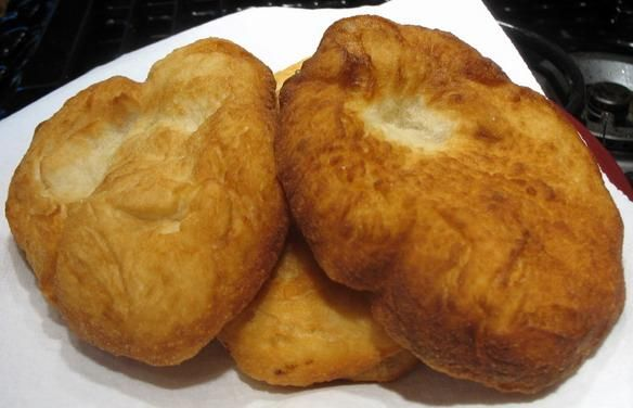 Cherokee fry bread - My hubby loves this stuff