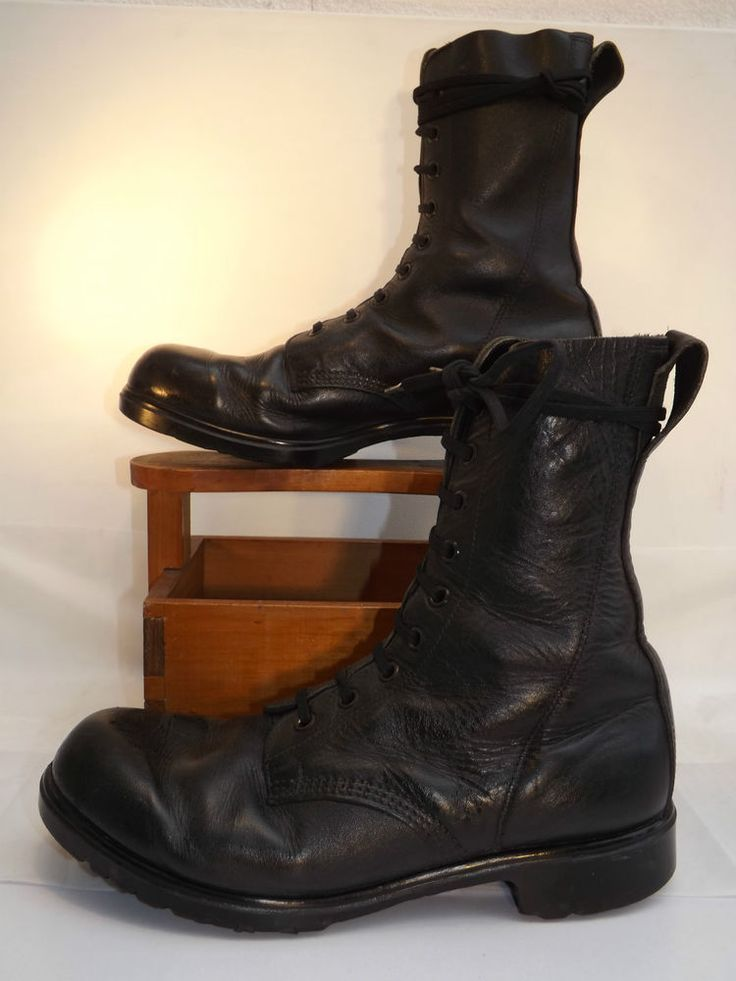 Vintage British Army Lace-up Boots- Size 288 / 12 UK-46 EU - 13 US-Made by GBB