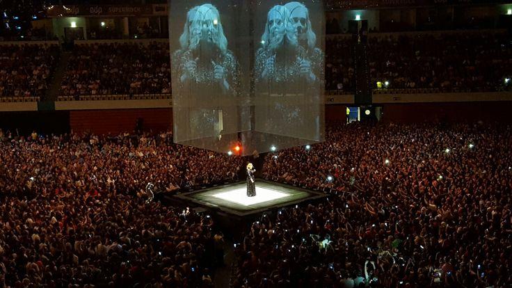 Concert d'Adele à Lisbonne hier soir. Un grand moment !!!!